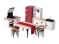 Набор мебели для кукольного дома Кухня PLAYTIVE  JUNIOR Puppenhaus