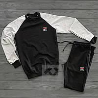 Спортивный костюм мужской в стиле Fila | осенний весенний, фото 1
