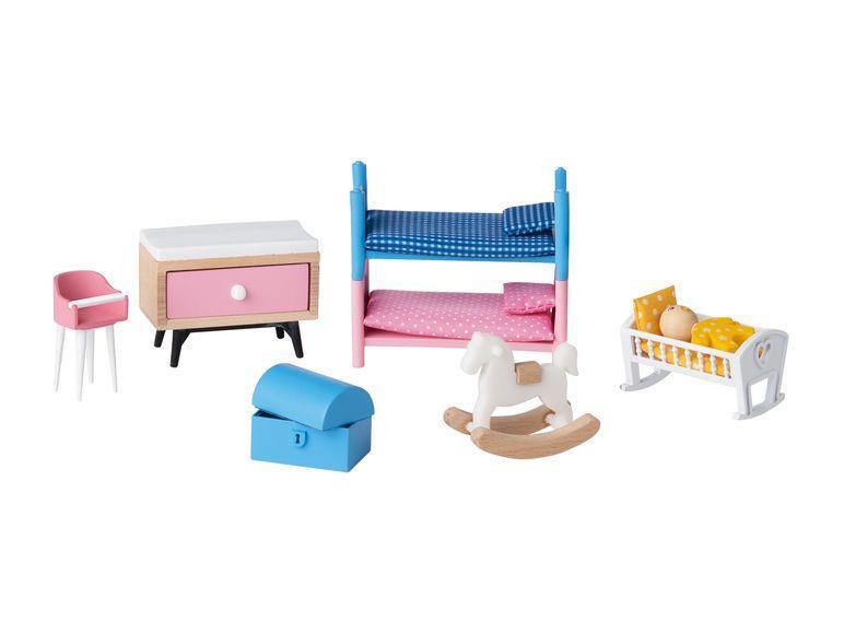 Набір меблів для лялькового дому дитяча спальня PLAYTIVE JUNIOR Puppenhaus