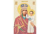 Атлас с нанесенным рисунком БОЖЬЯ МАТЕРЬ «Презри на смирение»