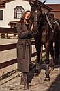 Изящное пальто серого цвета, фото 3