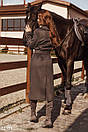 Изящное пальто серого цвета, фото 5