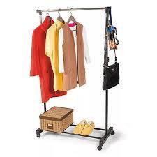 Телескопическая стойка-вешалка для одежды и обуви - Single Pole Clothes Horse, фото 2