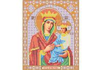 Атлас с нанесенным рисунком БОЖЬЯ МАТЕРЬ «Споручница грешных»