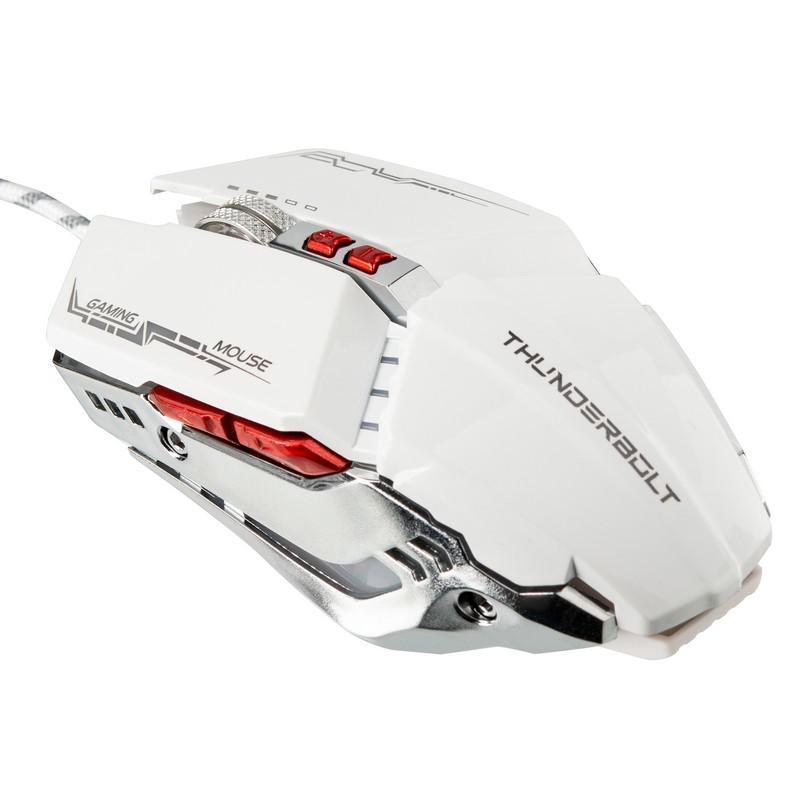 Мышь USB Zornwee GX20 White