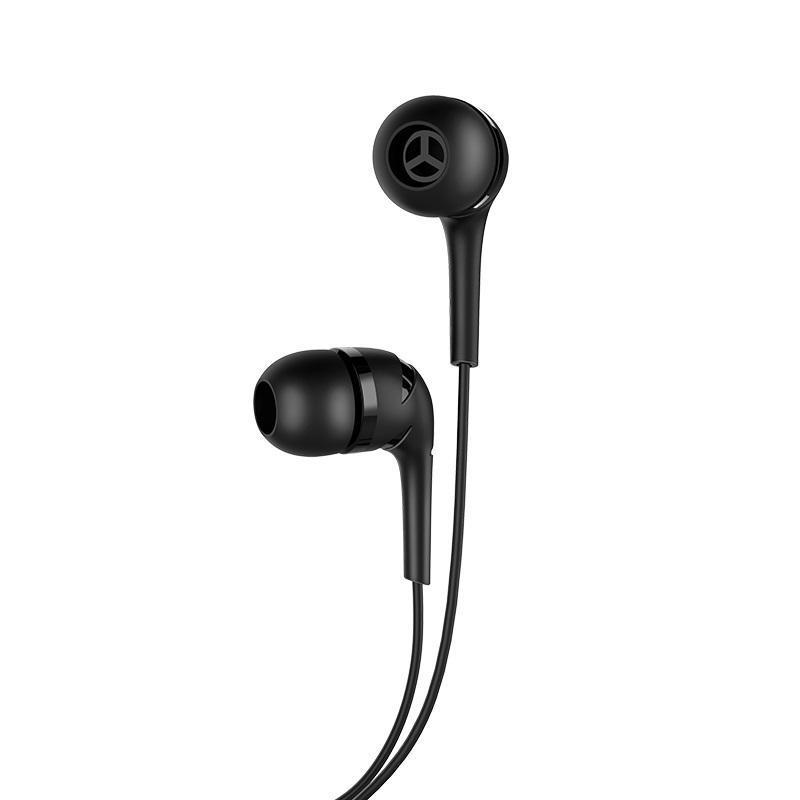 HF Hoco M40 Black + mic + button call answering