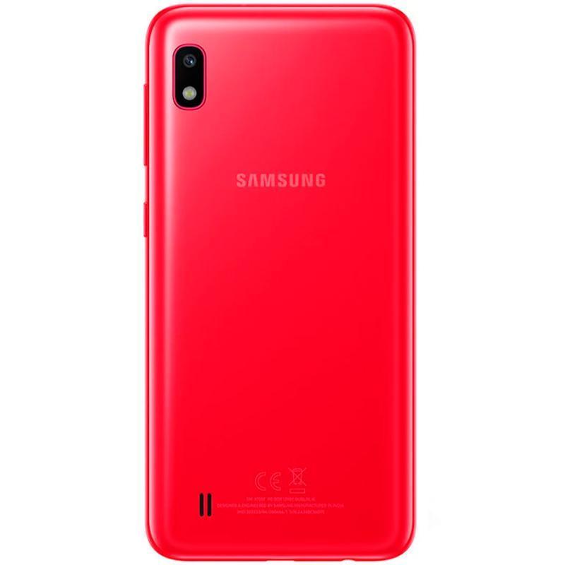 Задняя крышка Samsung A105F (A10-2019) Red OR