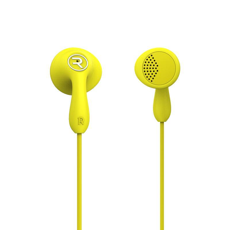 HF Remax (OR) RM-301 Yellow (mic + button call answering)