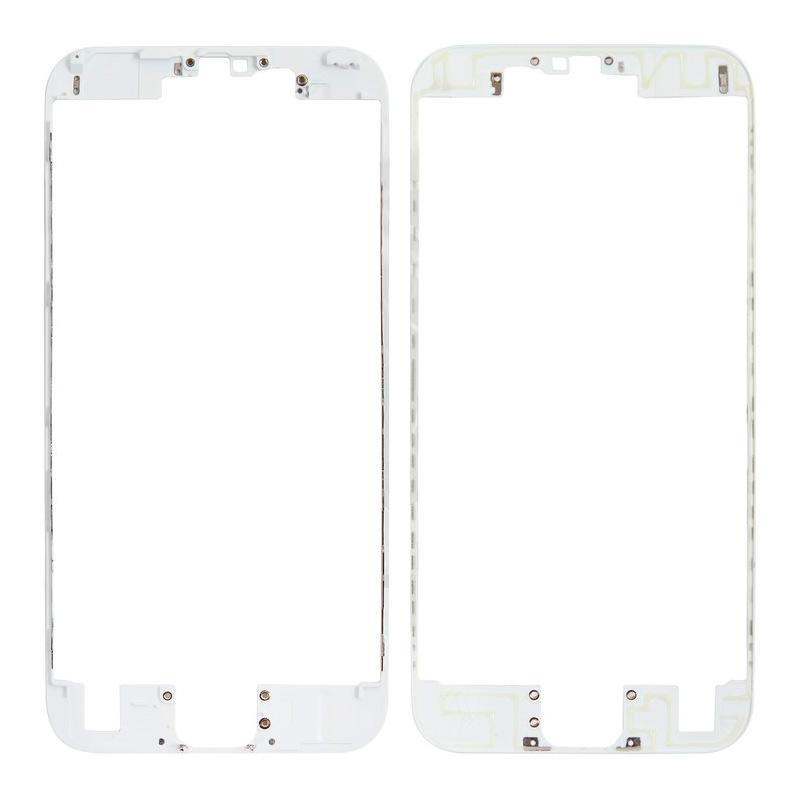 Mounting frame LCD iPhone 6S White