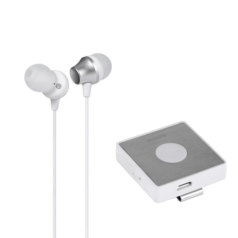 Бездротові стерео навушники Remax RB-S3 білого кольору