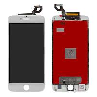 Дисплейный модуль (LCD + touch) iPhone 6s Plus белый (копия высокого качества)