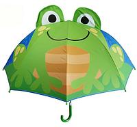 """Детский зонтик 3D ушки """"Лягушонок"""""""