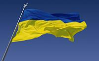 Флаг Украины 40*60 нейлон