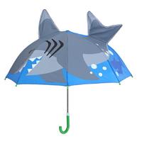 "Детский зонтик 3D ушки ""Акула"""