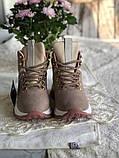 Демисезонные кроссовки ботинки красивого цвета пудры, фото 9