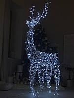 Светящиеся Олень LED Светящиеся Фигуры Новогодний Олень лед