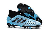 Бутсы adidas Predator 19+ FG blue/black