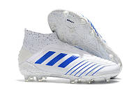 Бутсы adidas Predator 19+ FG rwhite/blue