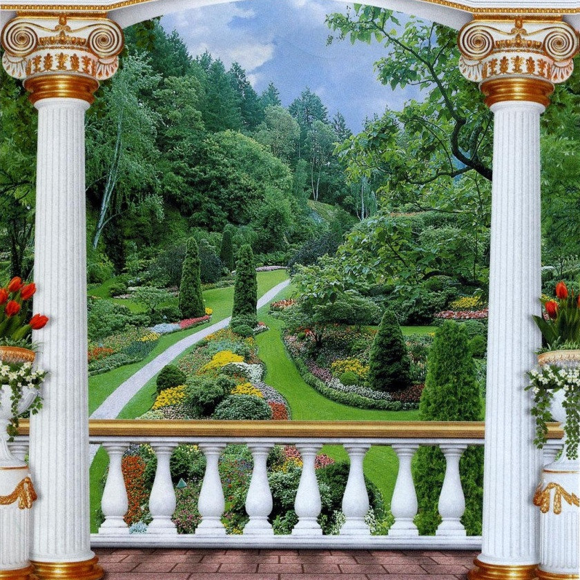 Фотообои, Царский парк, 12 листов, размер 201х194см