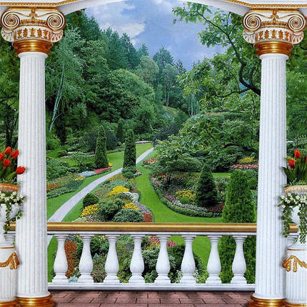 Фотообои, Царский парк, 12 листов, размер 201х194см, фото 2