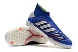 Сороконожки adidas Adidas Predator Tango 19+ TF blue2, фото 5