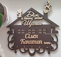 Ключница фамильная - домик для ключей