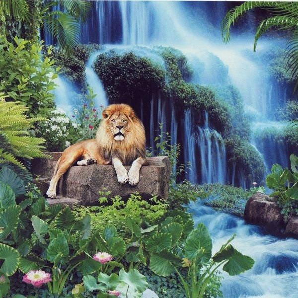 Фотообои, водопад,  Триумф величия, 15 листов, размер 201х242см
