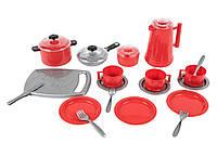 Детская посудка (24 предмета),игрушечная посуда, фото 1