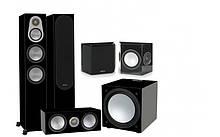 Комплект акустики Monitor Audio Silver Series 300 Black Gloss 5.1