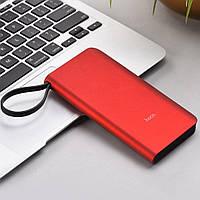 Внешний аккумулятор Power Bank Hoco J25A 10000mAh red (С встроенным кабелем Micro)