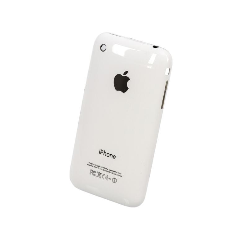 Корпус Full (крышка+рамка+battery+flat) iPhone 3Gs 16Gb White