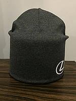 Подростковая шапка для мальчика трикотажная