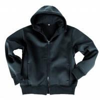 Куртка неопреновая с флисовой подкладкой (черная) Германия Mil-Tec