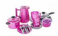 Дитячий посуд (24 предмета),іграшковий посуд, фото 1