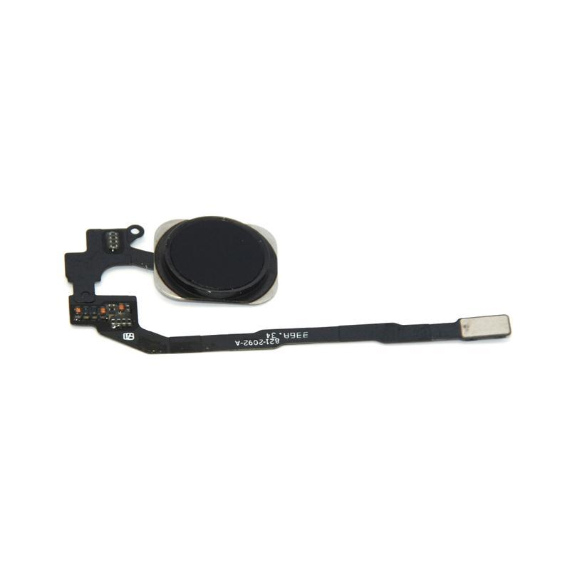 Flat Cable with button Home iPhone 5S/SE Black (Compleate)