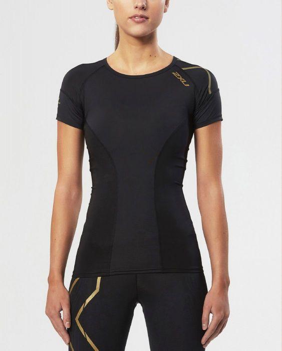 Женская компрессионная футболка 2XU Elite Compression (Артикул: WA3015a)