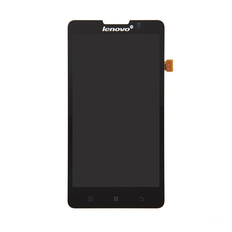 Дисплейный модуль (LCD + touch) Lenovo P780 черный original