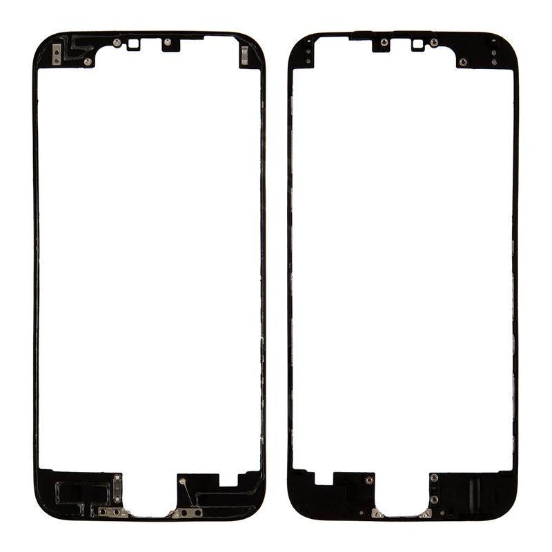 Mounting frame LCD iPhone 6 Black