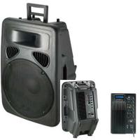 Активная акустическая система  PP1512A+MP3, фото 1
