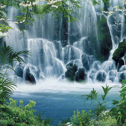 "Фотообои, Водопад ""Мираж"", 15 листов, размер 242х201 см, фото 2"