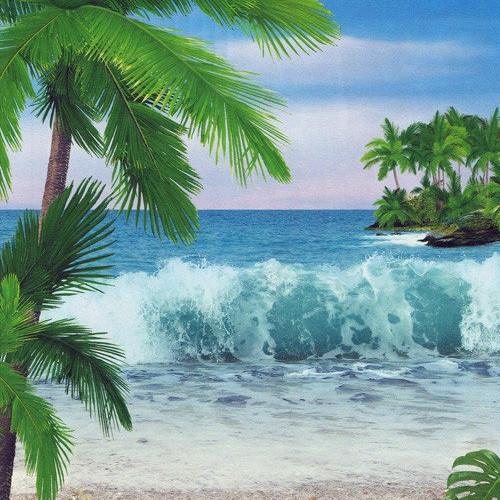 Фотообои, Аромат океана, 8 листов, размер 194х134 см