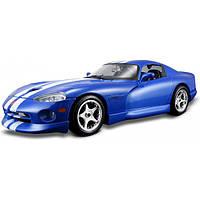 Bburago Авто-конструктор Bburago Dodge Viper GTS coupe (1996) (синий, 1:24) (18-25023)
