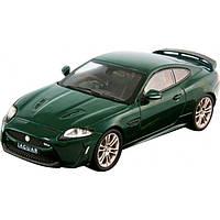 Bburago Авто-конструктор Bburago Jaguar XKR-S (темно-зеленый, 1:24) (18-25118)