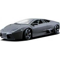 Bburago Авто-конструктор Bburago Lamborghini Reventon (матовый белый, серый металлик, 1:24) (18-25081)
