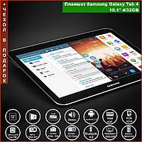 "Планшет телефон Samsung Galaxy Tab 4 10.1"" экран IPS Full HD+ | 8 Ядер, 4/32GB, WiFi /3G / 4G, 2 Sim + MicroSD"