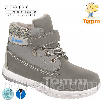 Зимняя обувь оптом Ботинки для мальчиков от фирмы Tom m(27-32), фото 2