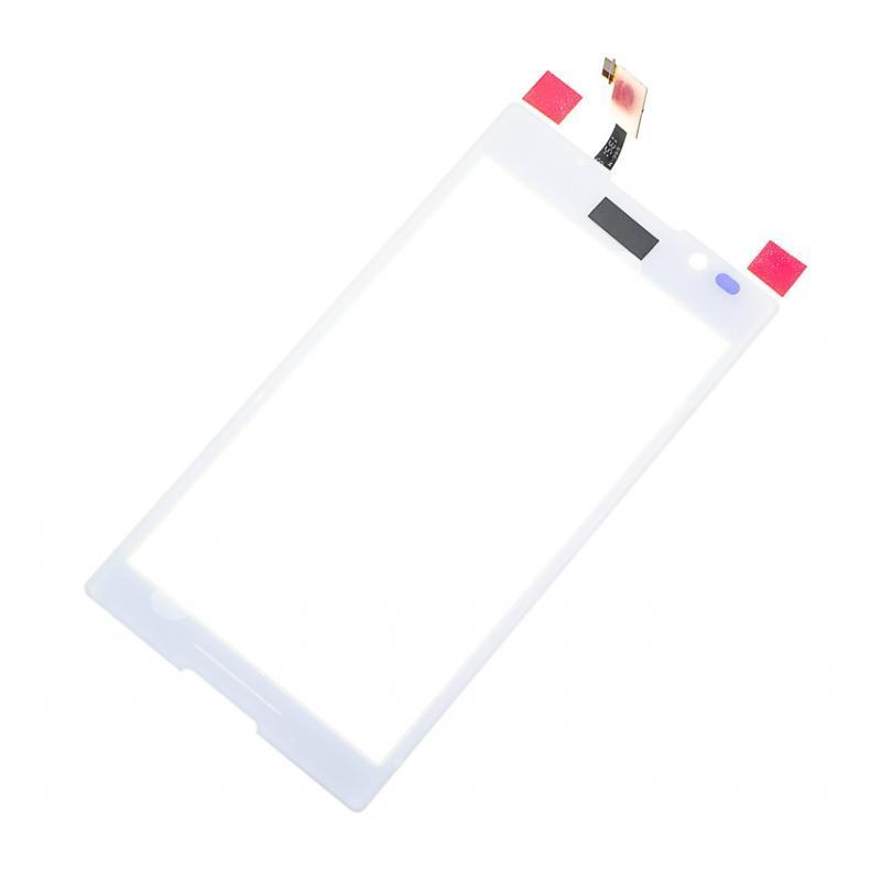 Сенсор (touchscreen) Sony C2305/ S39h/ Xperia C белый
