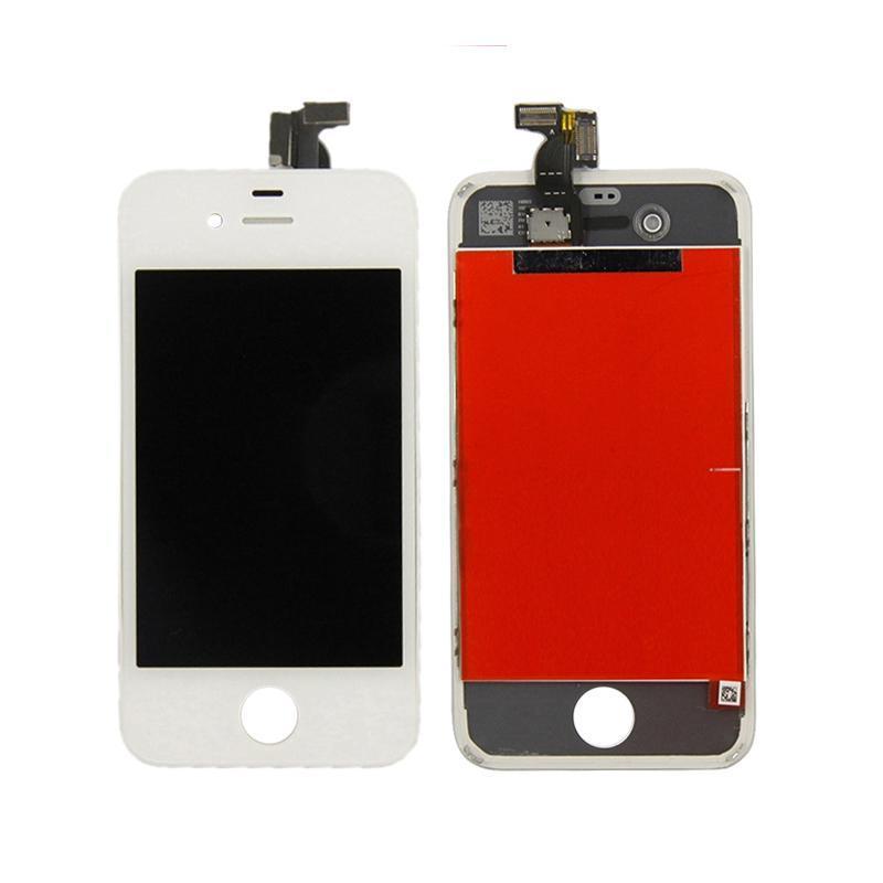 Дисплейный модуль (LCD + touch) iPhone 4S белый (копия высокого качества)