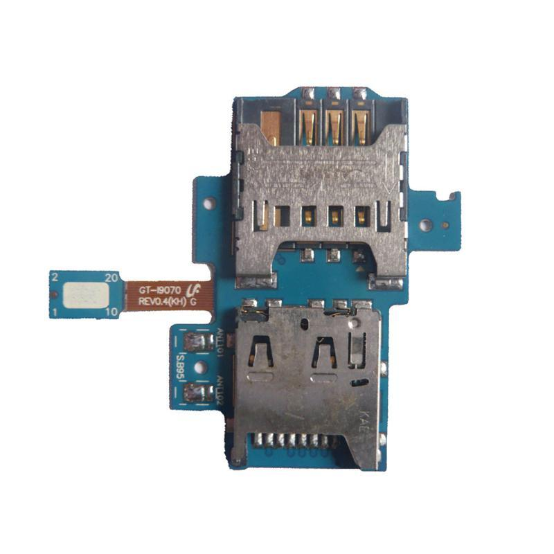 Flat Cable Samsung i9000 with sim & memory holder HC
