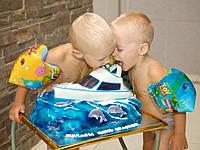 """Бисквитный торт с мастичной декорацией. Торты от """"Сам Себе Кондитер"""" могут быть самыми разными как по тематике, так и по исполнению. Вкусовые качества, при этом, всегда остаются безупречными. Наши мастера добиваются этого, используя только натуральн"""
